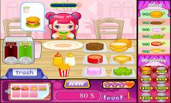 Cute Burger 1 screenshot 3/6