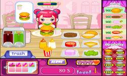 Cute Burger 1 screenshot 4/6