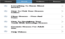 Braces App screenshot 2/3
