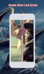 Dragon Zipper Lock Screen screenshot 3/6