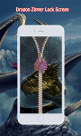 Dragon Zipper Lock Screen screenshot 4/6