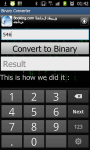 Binary Converter and Learn How to do it screenshot 2/3