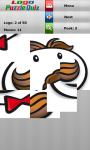 Logo Puzzle Quiz game screenshot 1/4