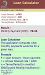 Loan Calculator v-1 screenshot 3/3