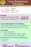 Loan Repayment Calculator V1 screenshot 3/3