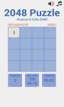 Puzzle 2048 screenshot 1/4