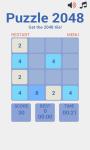Puzzle 2048 screenshot 2/4
