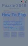 Puzzle 2048 screenshot 3/4