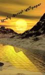 3D Sunset HD Wallpaper screenshot 4/6