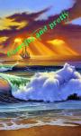 3D Sunset HD Wallpaper screenshot 6/6