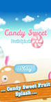 Candy Sweet Fruit Splash Saga screenshot 1/5