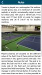 Tennis Guidelines screenshot 2/3
