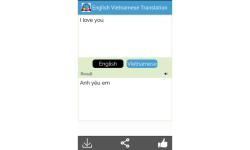 English to Vietnamese Translator screenshot 4/5