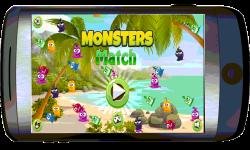 Monsters Match screenshot 1/3