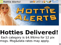 Hottie Alerts screenshot 1/1