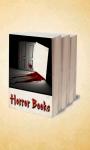Horror books app screenshot 1/3