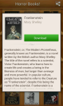 Horror books app screenshot 3/3