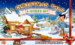 Free Hidden Object - Christmas Tales Fathers Gift screenshot 1/4