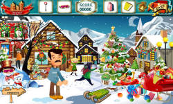 Free Hidden Object - Christmas Tales Fathers Gift screenshot 3/4