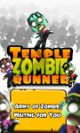 Temple Zombie Runner 3D Game screenshot 1/4