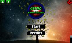 Astro Explosions Brain Trainer screenshot 1/5