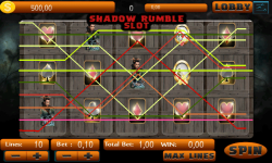 Shadow Rumble Slot screenshot 3/5