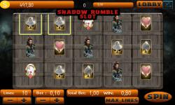 Shadow Rumble Slot screenshot 4/5