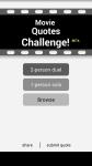 Movie Quotes Challenge screenshot 1/3