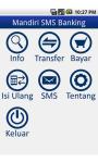 Pemandu SMS Mandiri screenshot 1/6