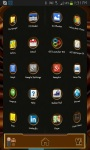 Next Launcher 3D choco Theme screenshot 3/3