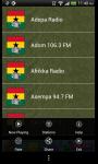 Live Ghanaian Streaming Radio Sport Music News screenshot 2/3