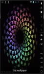 Colored Pentagons Live Wallpaper screenshot 1/2