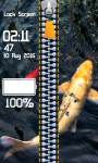 Zipper Lock Screen Fish screenshot 4/6