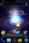 Shake Lock screenshot 1/2