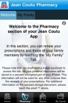 Jean Coutu (Pharmacy - Now with Rx Renewal - iOS4 Ready) screenshot 1/1