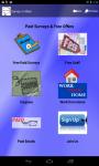 Survey-n-More : Paid Surveys and Freebies screenshot 1/5