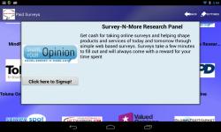 Survey-n-More : Paid Surveys and Freebies screenshot 3/5