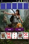 Tomb Raider Poker Card Game screenshot 2/6