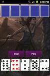 Tomb Raider Poker Card Game screenshot 3/6