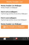 Wesley Sneijder Live Wallpaper Free screenshot 2/5