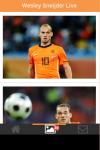 Wesley Sneijder Live Wallpaper Free screenshot 3/5