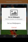 Wesley Sneijder Live Wallpaper Free screenshot 5/5
