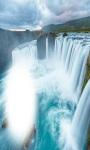 Waterfall Frames Waterfall Live Wallpaper screenshot 2/5