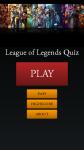 League of Legends Quiz LoL screenshot 1/4