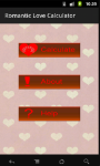 Romantic Love Calculator screenshot 2/6