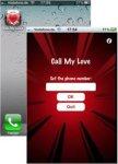 Call-My-Love iPhone screenshot 1/1