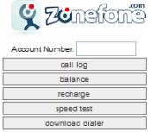 Zonefone screenshot 1/1