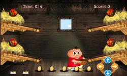 Chicken egg Catcher: Farm Game screenshot 2/4
