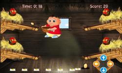 Chicken egg Catcher: Farm Game screenshot 3/4