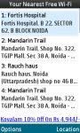 Free Wifi Finder India screenshot 2/4